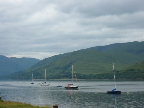 Boats in Fort William