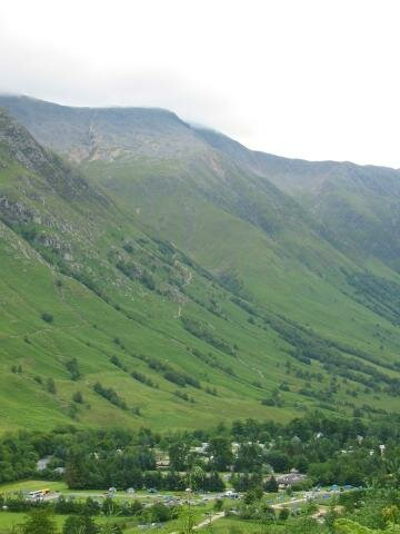 Ben Nevis (the village and the foothill)